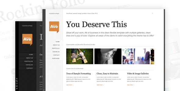 15 - Design Avenue WordPress Portfolio