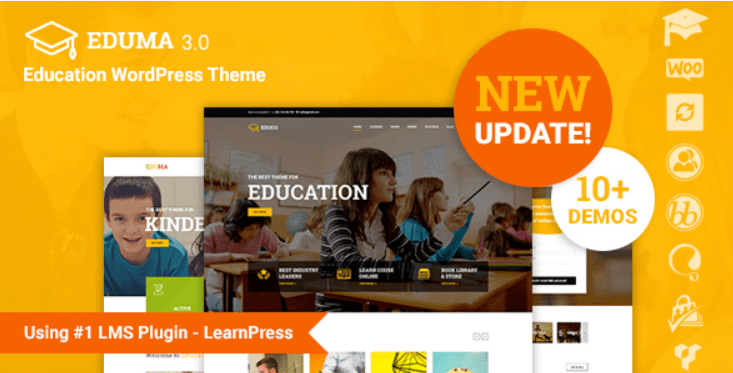 17 - Education WordPress Theme