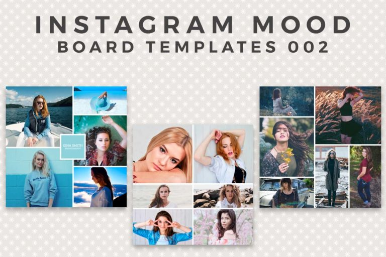 17. Free Instagram Mood Board Template
