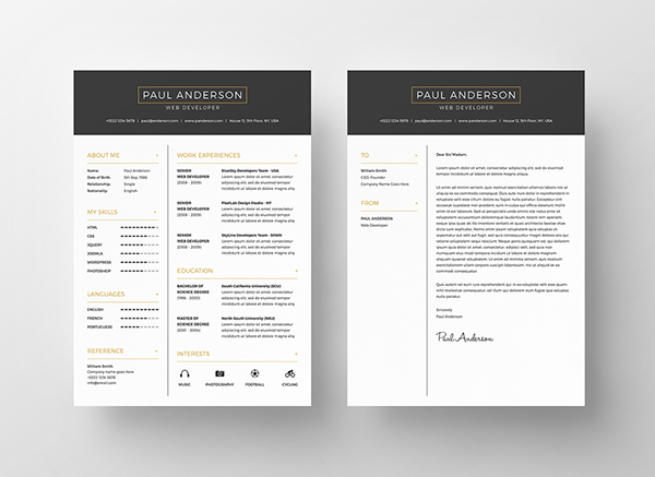 2 - Free Resume Template