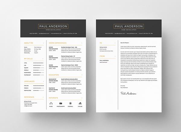 2 - Free Resume Template