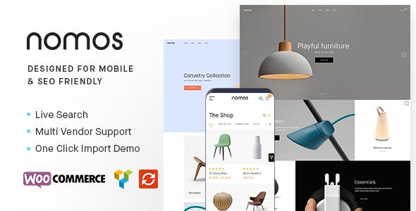 24 - Nomos - Modern AJAX Shop Designed For Mobile And SEO Friendly