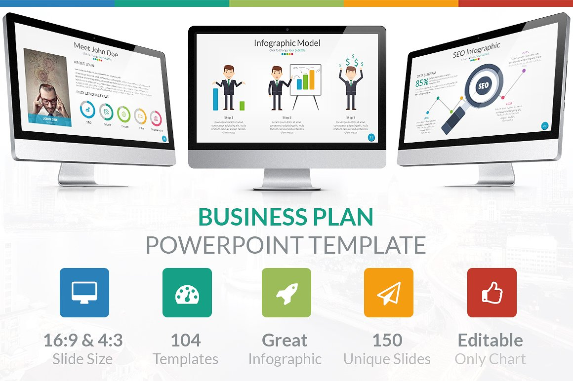 24. Business Plan - PowerPoint Template