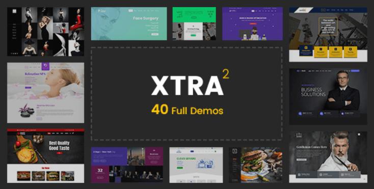 27 - XTRA Multipurpose WordPress Theme + RTL