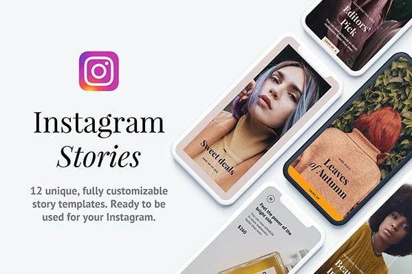 30. Napali Instagram Story Templates (PSD, Sketch)