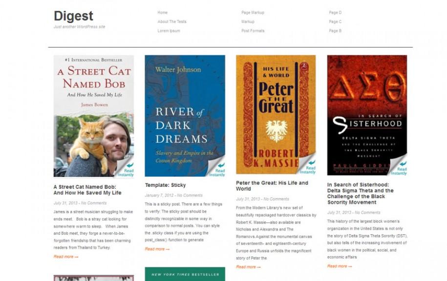 31 - Digest Free Portfolio WordPress Theme