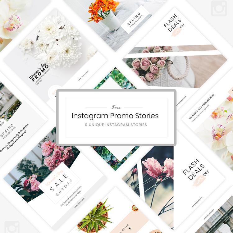 31. Free Instagram Stories Templates PSD
