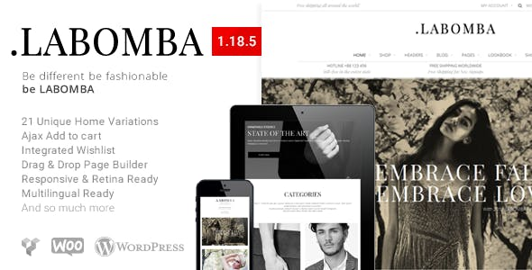 34 - Labombaa - Responsive Multipurpose WordPress Theme