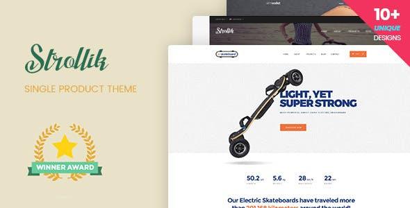 4 - Strollik - Single Product WooCommerce WordPress Theme