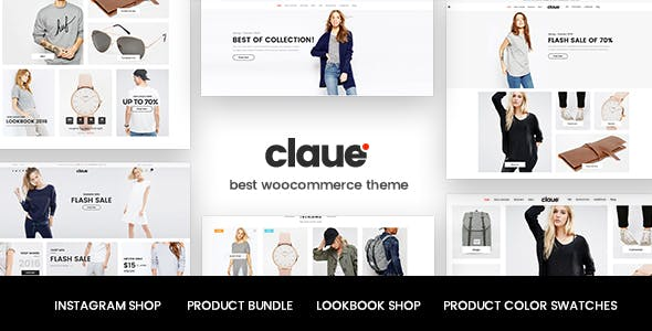 42 - Claue - Clean, Minimal WooCommerce Theme