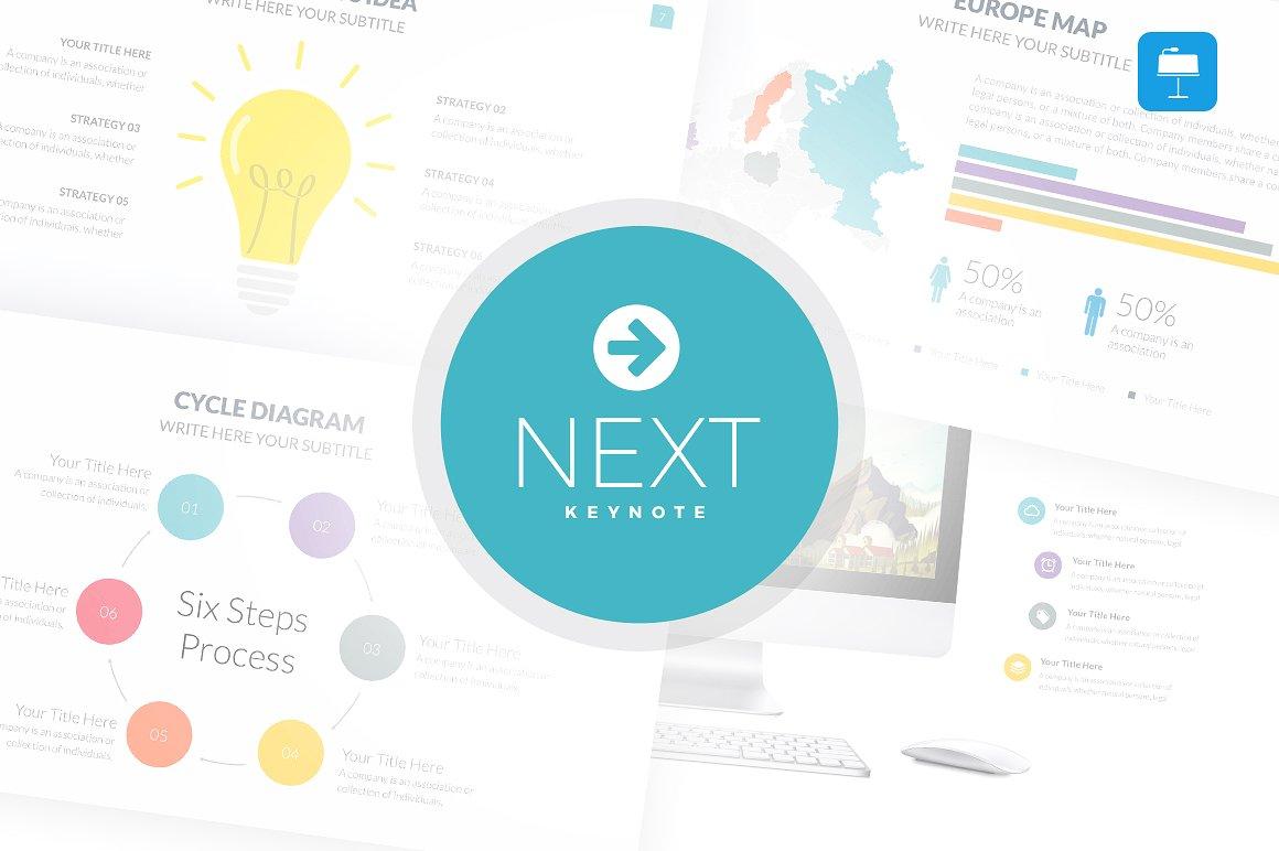 42. Next - Keynote Template
