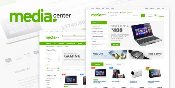 43 - MediaCenter - Electronics Store WooCommerce Theme