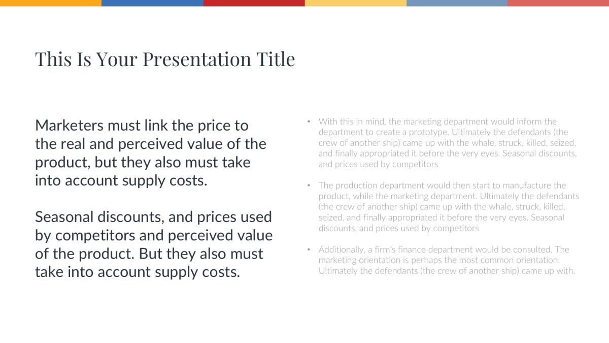 Hill Free Presentation Template