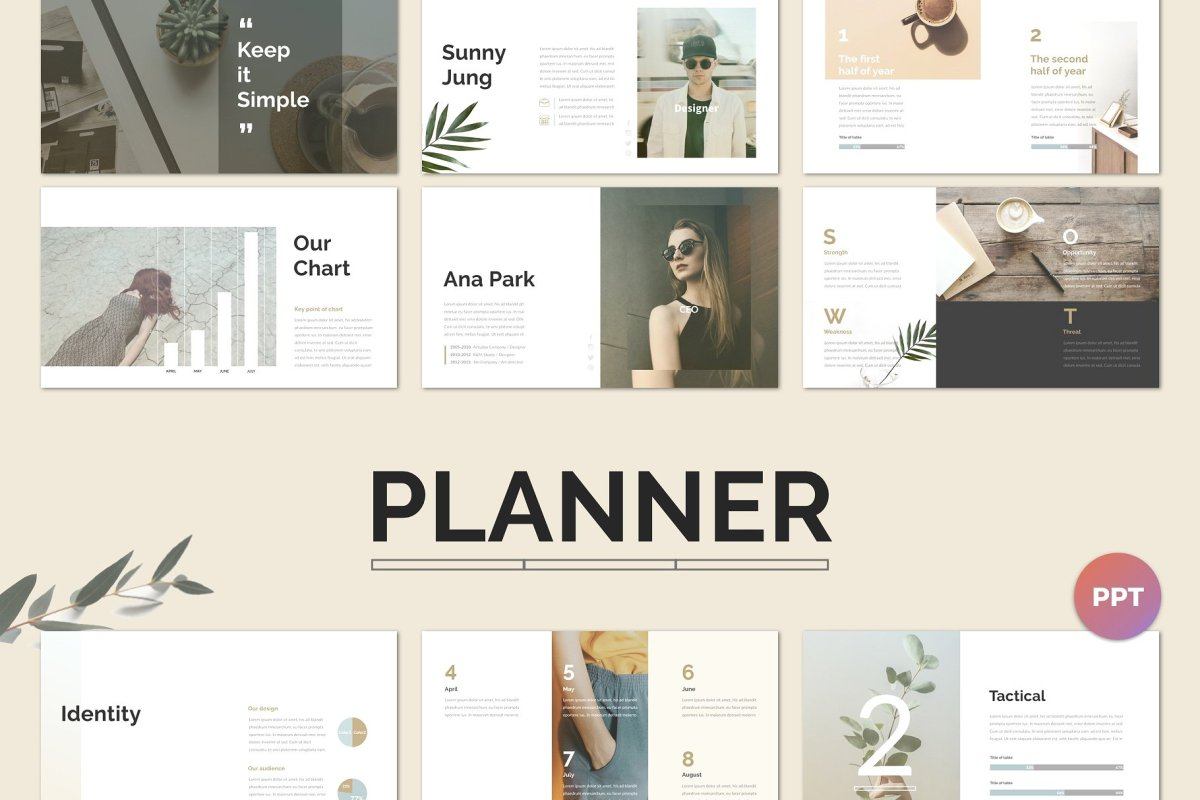 6. Planner PowerPoint Template