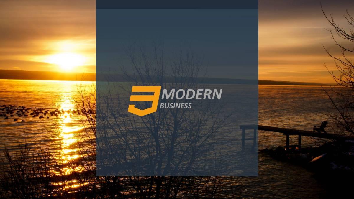 Business Modern Presentation Template
