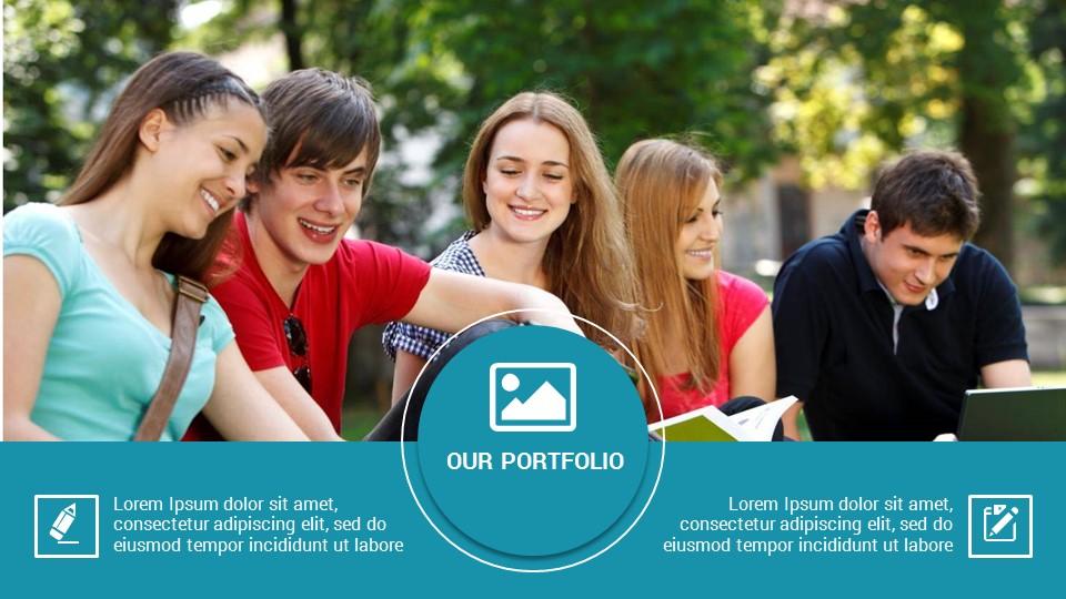 Education - PowerPoint Presentation Template