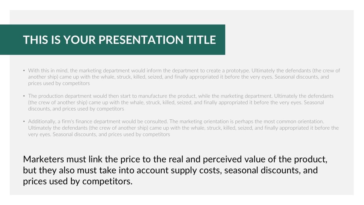 Free PowerPoint, Free Apple Keynote, and Free Google Slides