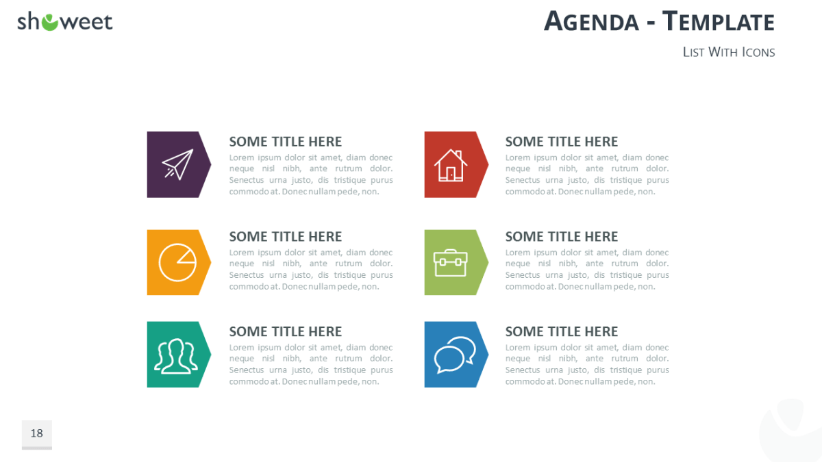 table of content free powerpoint template