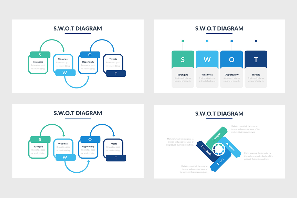 best swot analysis powerpoint templates