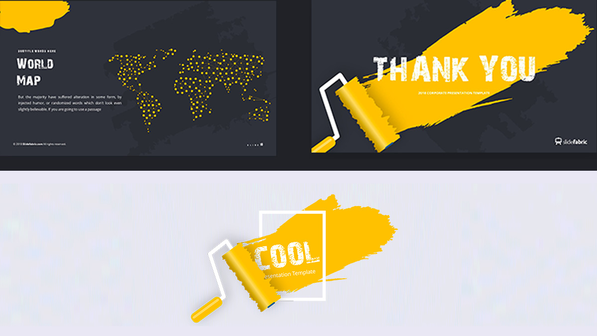 cool free powerpoint template