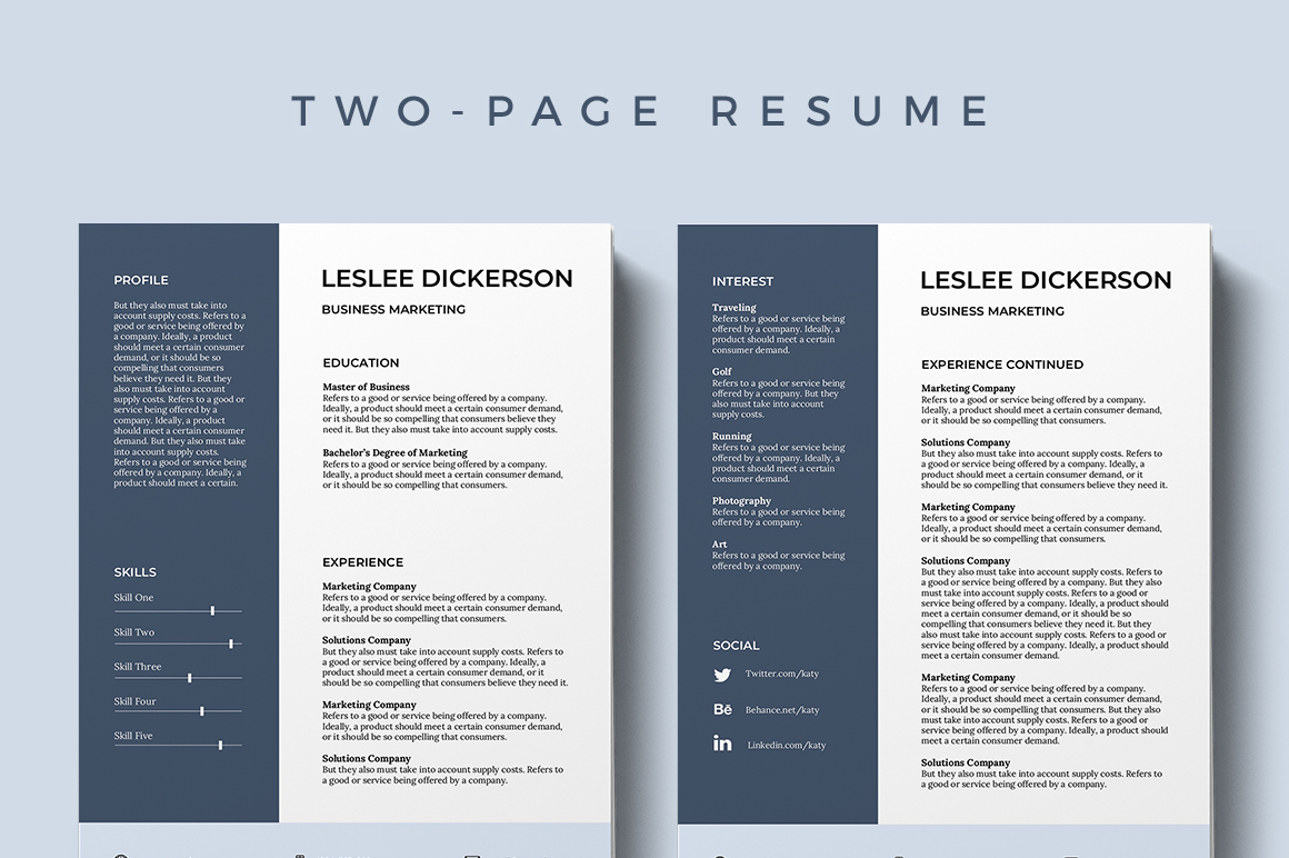Modern Resume Template Download 75 Best Free Resume Templates Of 2019