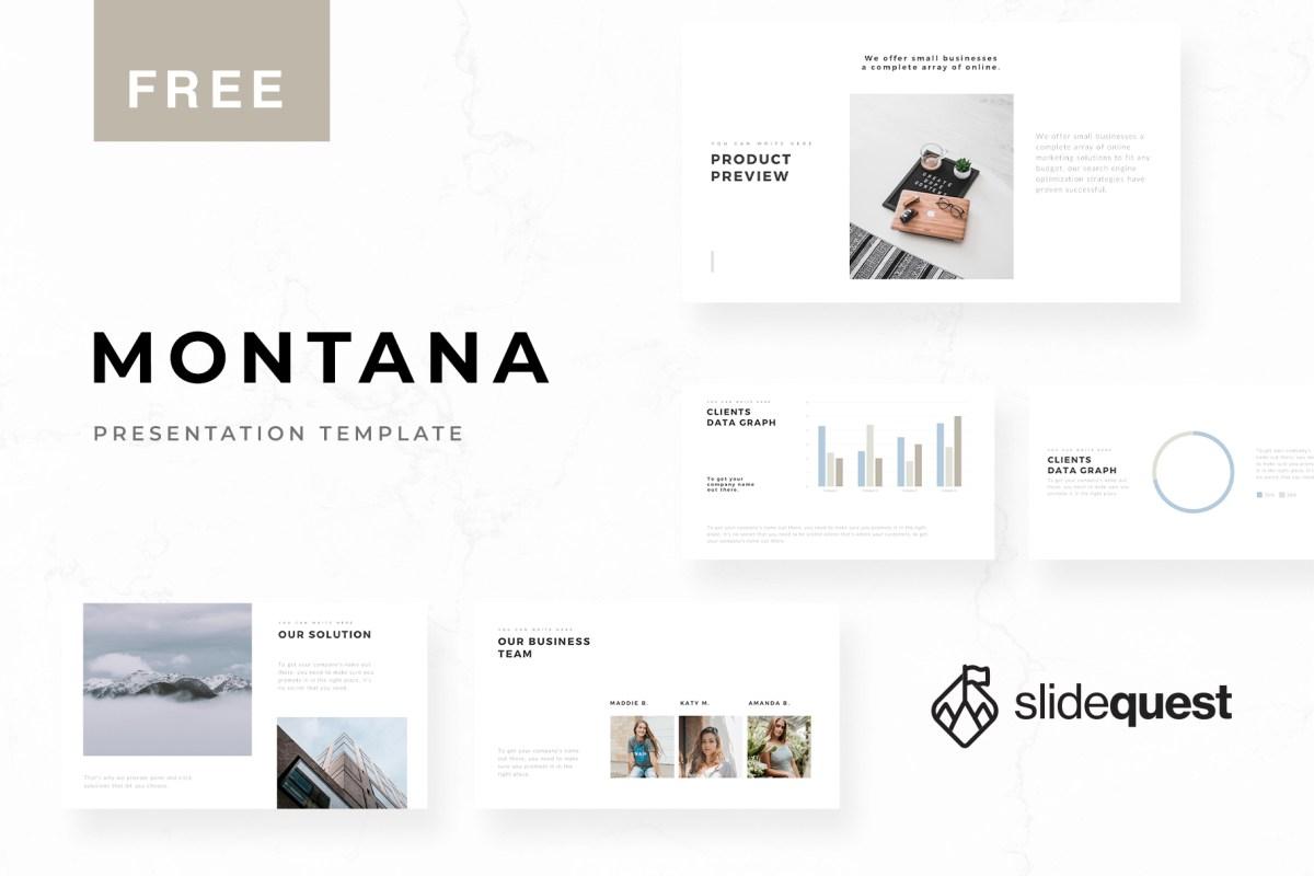 Minimal Free Presentation Template
