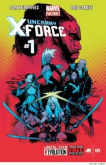 Uncanny X-Force #1 Cover
