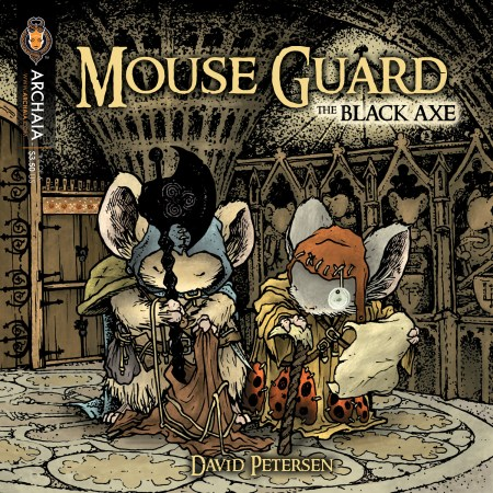 Mouse Guard Black Axe 006 Cover
