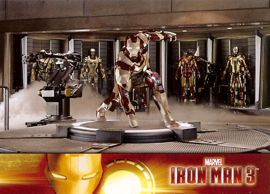 2013-Upper-Deck-Marvel-Iron-Man-3-Cards-Base-Hall-of-Armor