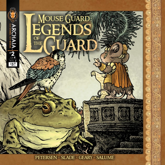 Mouse Guard Legends of the Guard v2 002 Front Cover