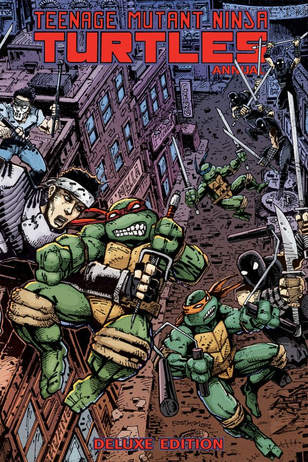 TMNT Annual Deluxe Edition