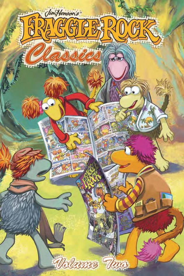 Fraggle Rock Classics v2 Cover