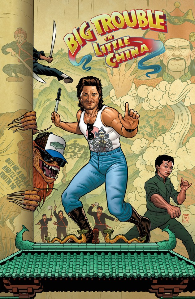BIG TROUBLE IN LITTLE CHINA #1 Cover B (Connecting) by Joe Quinones