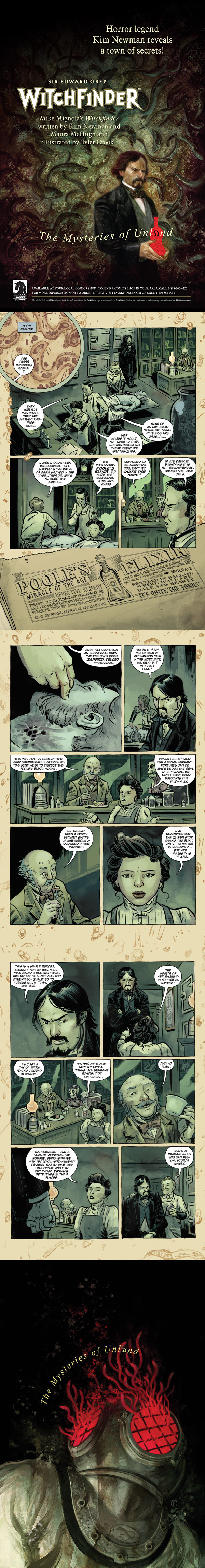 WITCHFINDER #1 THE MYSTERIES OF UNLAND