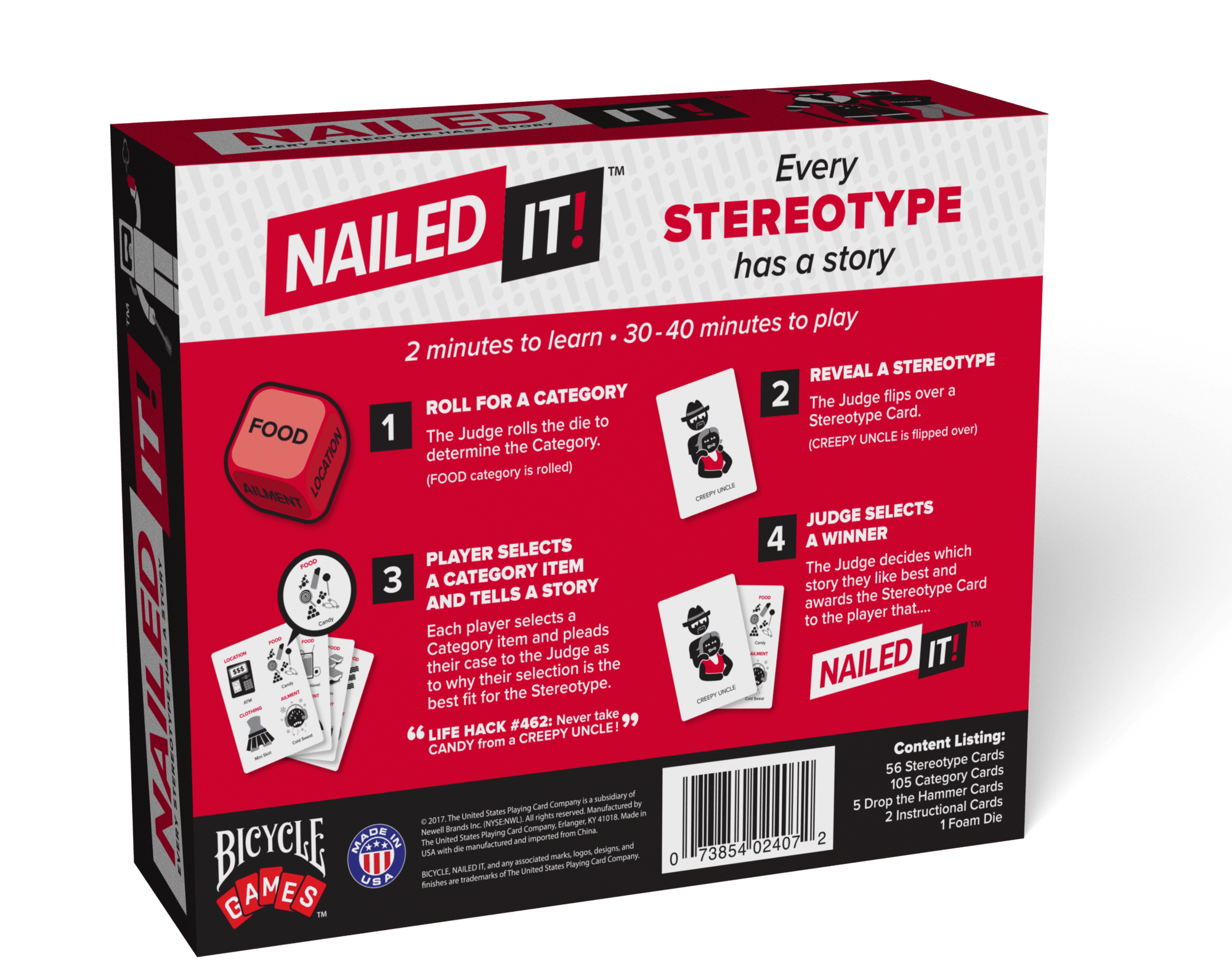 Nailed It Back Of Box 3d