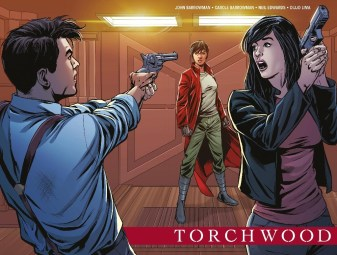 Torchwood The Culling #1 Cover D Sladen Reveal Wraparound