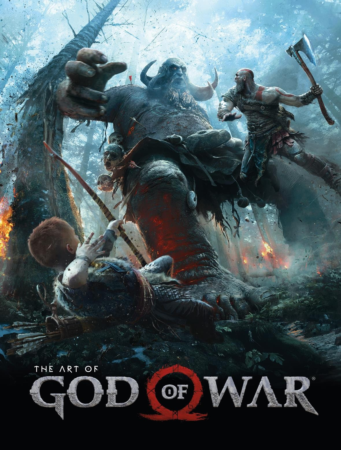 The Art of God of War and God of War Comics in 2018 | Graphic Policy