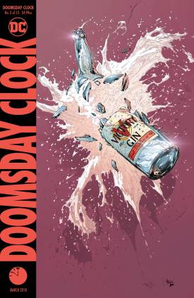 Doomsday Clock #3 Cover