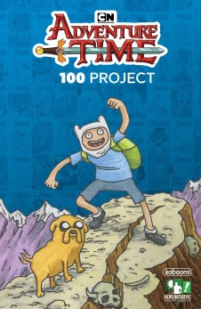The Adventure Time 100 Project Cover by Jeffrey Brown