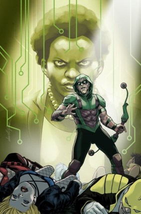 cover to May's GREEN ARROW ANNUAL #2 by David Lopez