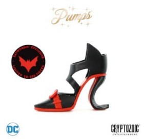 Batwoman DC Pumps Vinyl Figure 3