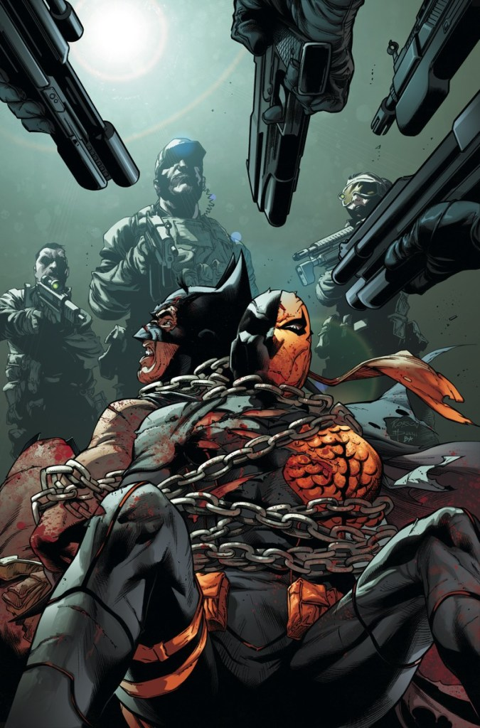 Batman And Slade Are Going To Have Work Together ON SALE 090518 399 US