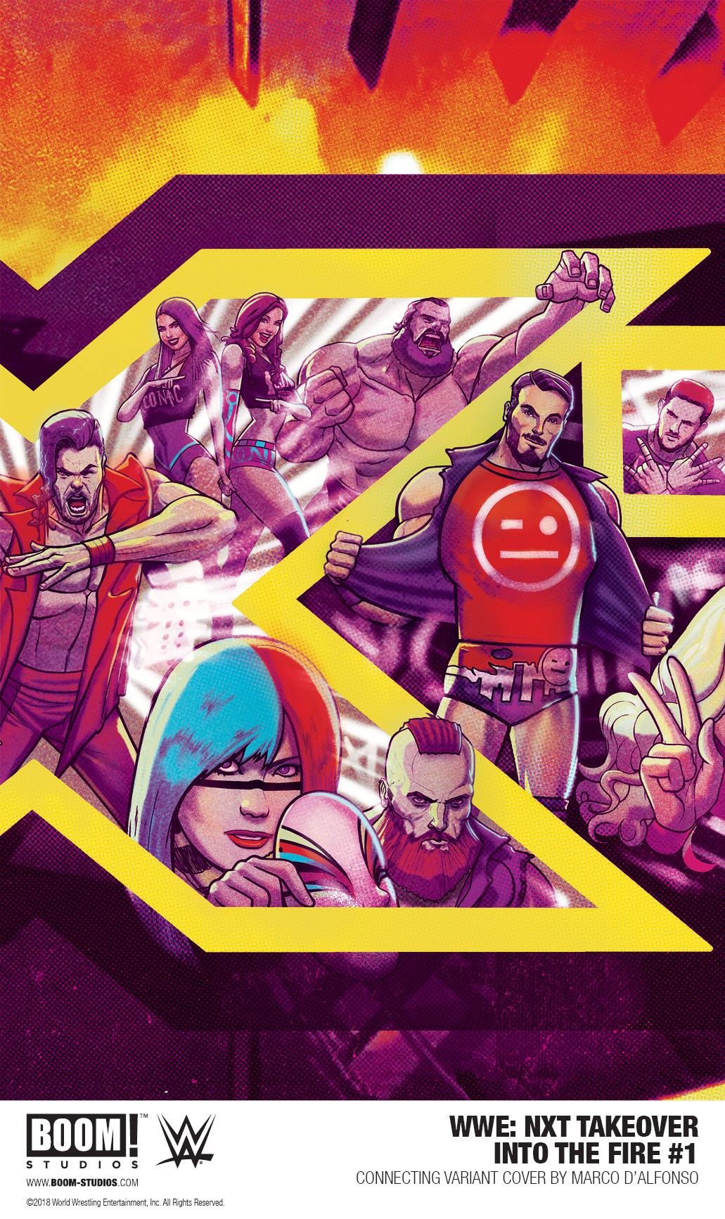 WWE_NXT_IntoFire_001_Variant_PROMO