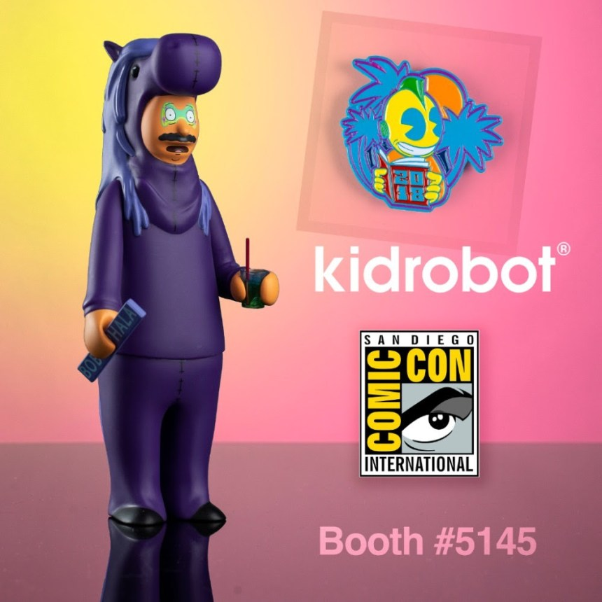 SDCC 2018: Kid Robot's Signings, Exclusives, and New