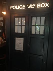 Not at FlameCon, but this is a bathroom TARDIS at Waypoint in Brooklyn.