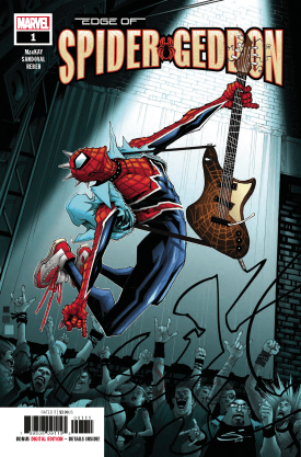 Review: Edge of Spider-Geddon #1 | Graphic Policy