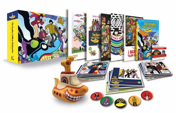 The Beatles Yellow Submarine Limited Box Set