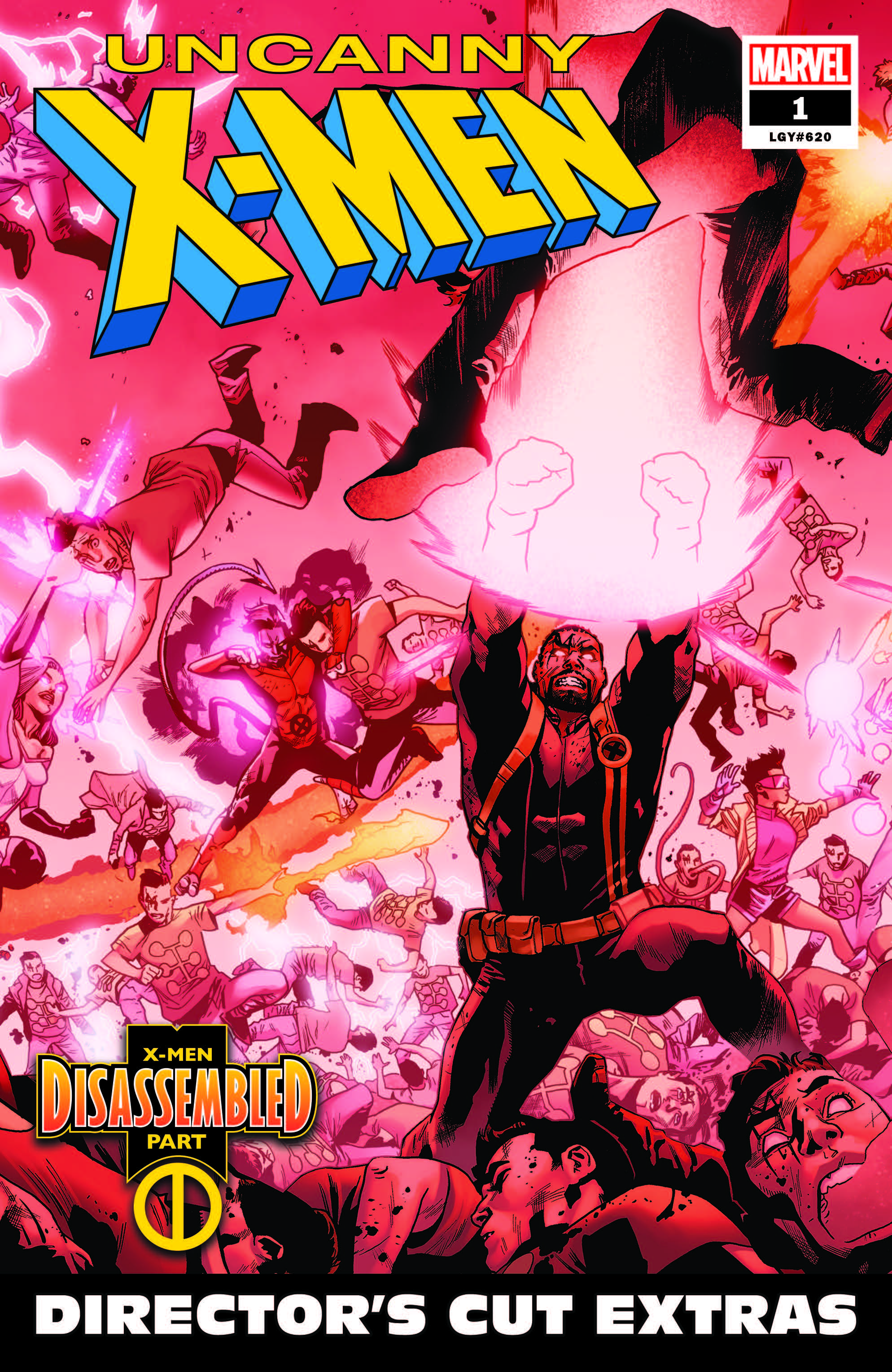 Uncanny X-Men #1 Gets a Digital Director's Cut