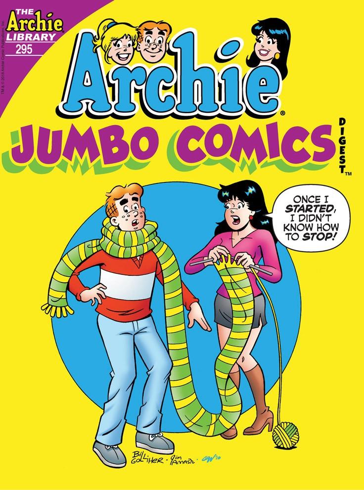 ARCHIE JUMBO COMICS DIGEST #295