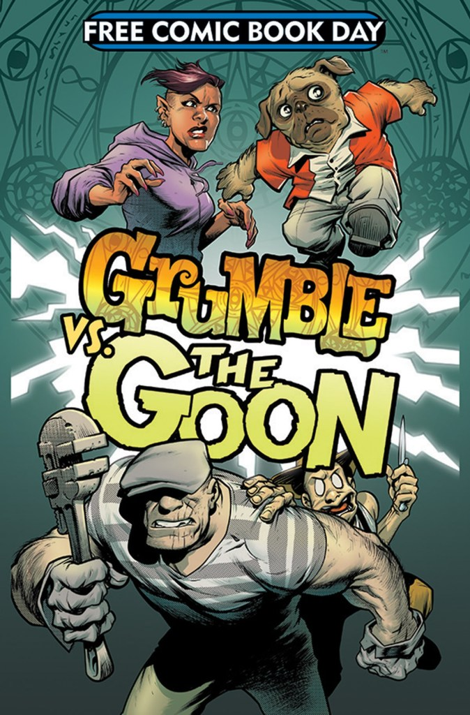 Grumble vs The Goon Gree Comic Book Day